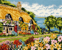 Seaview Cottage :  Anchor  Tapestry  Kit : MR7002
