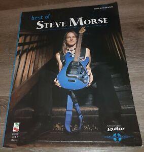 STEVE MORSE - THE BEST OF - GUITAR TAB BOOK - SHEET MUSIC TABLATURE - SONGBOOK