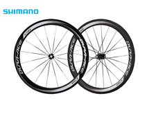 Shimano Dura-Ace WH-9000 C50 Carbon Tubular 700c 11 Speed Road Bike Wheel Set