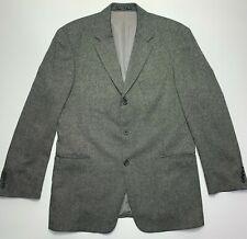 Hugo Boss Mens Gray Silk & Wool Sport Coat Blazer 44R