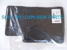 2009 - 2011 Cadillac STS AWD Carpet Floor Mats Set EBONY BLACK 15857934