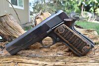 Razor Grip, Walnut stain 1911 Grips, Fit Ruger Colt Rock Island Remington Kimber