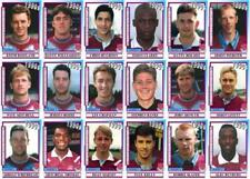 West Ham United 1990's series 3 vintage style Football Trading cards - Decades