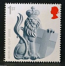 """""""Crowned Lion with Shield of St. George"""" illustrated on 2010 stamp - U/M"""