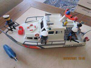 Playmobil Polizeiboot  C O A S T - G U A R D   mit Motor
