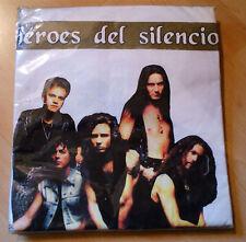 CAMISETA HEROES DEL SILENCIO- BLANCA - PRECINTADA -  MERCHANDISE AVALANCHA -1995