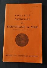 SNCM juillet 1978 Annales du sauvetage maritime 11ème année n°24