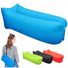 Inflatable Lounger Air Sofa Lightweight Beach Sleeping Bag Air Folding Sofa