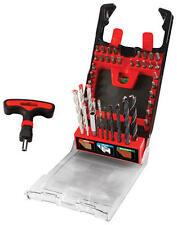 TOOL SHOP 50 PC T-Handle Drill and Drive Bit Set - New with Case