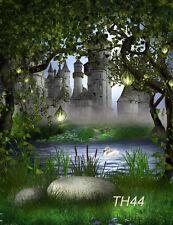 Castle Vinyl Photography Backdrop Background Studio Photo Props 3X5FT TH44