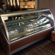 "Ifi Aktiva ventelated refrigerated pastry case 85"" lenght 120 volt"
