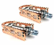 MKS BM-7 BMX/MTB Alloy Bicycle Pedals Copper (pair)