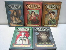 THE SPIDERWICK CHRONICLES SET VOLUMES 1-5 TONY DITERLIZZI HARDCOVER BOOKS
