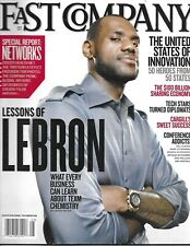 Fast Company Magazine Lebron James Networks Special Report Innovation 2011