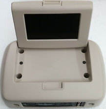 Ford overhead video rear entertainment system. DVD and LCD display screen. Tan