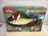 Big Mouth Christmas Billy Bass Singing Plaque 1999 For Parts Or Repair