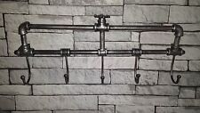 De Pared Industrial Glaseado Vintage Retro Estilo Antiguo Metal Abrigo+