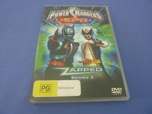 Power Rangers S.P.D SPD DVD Zapped Vol 5 Region 4