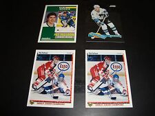 Pat Fallon 5 Hockey Karte & Insert Lot San Jose Sharks beinhaltet Rookie NM