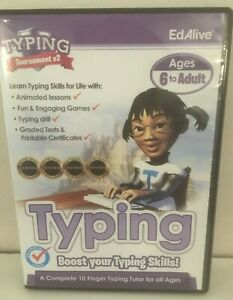 Ed Alive/EdAlive Typing Tournament v2 Boost your typing skills kids & adults 6+