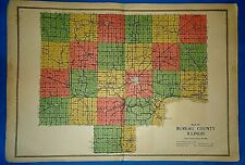 Vintage 1916 Atlas Map ~ BUREAU COUNTY ILLINOIS ~ Old & Original ~ Free S&H