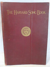 The Harvard Song Book 1922 First Edition