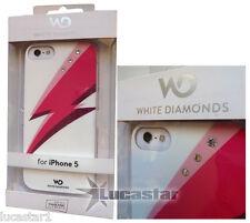 Funda iPhone 5 White Diamonds con Swarovski BLITZ