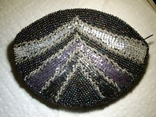 Vintage ~Victorian Look~ Multi Beaded Coin Bag Purse~