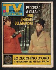 SORRISI 9/67 ZECCHINO D'ORO VILLANI BEATLES ROLLING STONES SAMANTHA (SERIE TV)