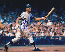 JOHNNY CALLISON NEW YORK YANKEES (DECEASED)  ACTION SIGNED 8x10
