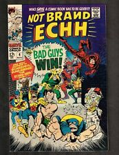 Not Brand Echh #4 ~ The Bad Guys Win ~ 1967 (9.2) Wh