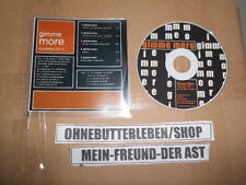 CD Pop The Hep & Lexflex - Gimme More (1 Song) Promo STATE ONE MUSIC