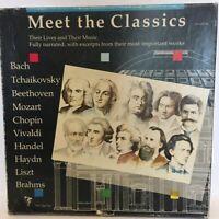 Meet The Classics Bach,Tchaikovsky, Beethoven, Mozart, Chopin, Vivaldi