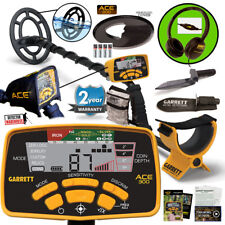 Garrett ACE 300 Metal Detector Waterproof Coil, Headphones & Edge Digger & Pouch