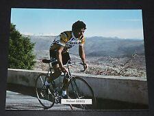 CPA CARTE POSTALE 1979 CYCLISME HUBERT ARBES RENAULT GITANE-CAMPAGNOLO TOUR