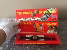 VINTAGE 1981 THE DUKES OF HAZZARD LCD QUARTZ WRIST WATCH 1980'S, New & Unused!