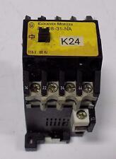 KLOCKNER-MOELLER 115V 60Hz CONTACTOR DIL08-31-NA
