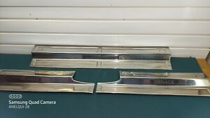 BENTLEY ARNAGE 2003 DOOR SILL PLATES 2 REARS LEFT AND RIGHT AND 1 FRONT