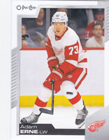 20/21 OPC...ADAM ERNE...CARD # 17...RED WINGS...FREE COMBINED SHIP