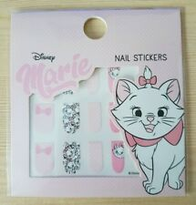 Disney Marie from Aristocats Nail Stickers Stick on Nail Polish Mad Beauty Wrap