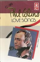 Phil Collins .. Love Songs.  Import Cassette Tape
