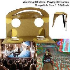 Magic Feel 3D Glasses DIY Virtual Reality VR BOX Cardboard Google Glass 2017 FT