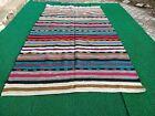 Handmade Anatolian Vintage Decorative Area Ethnic Decorative Kilim Area Rug