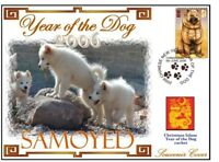 SAMOYED CHINATOWN YEAR OF THE DOG STAMP COVER 10