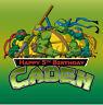 TMNT Ninja Turtles Personalised Edible Image REAL Icing Birthday Cake Topper