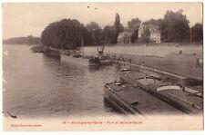 CPA 92 - BOULOGNE sur SEINE (Hauts de Seine) - 19. Port et Baie de Seine
