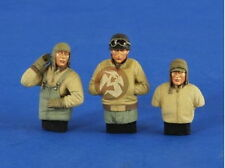 Verlinden 1/35 VP 2587 3 US Tank crew - Half-length figures in Winterzeug