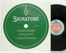 Lester Young & Coleman Hawkins    Classic Tenors       Flying Dutchman   NM # 20