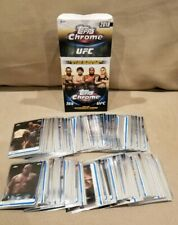2019 TOPPS UFC CHROME 100 CARD COMPLETE FULL BASE SET ALL PENNY SLEEVED MINT