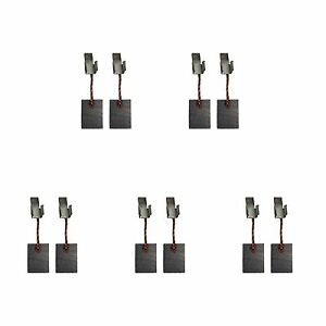 5 Sets of - 2x Carbon Brushes - Makita Cb440 (Size - 3 X 10 X 13.5)